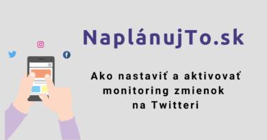 Ako nastaviť monitoring zmienok na twitteri